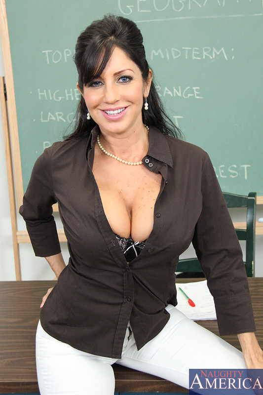 busty teacher
