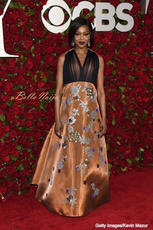 70th Annual Tony Awards New York June 2016 BellaNaija0034 600x901 1 Red Carpet Glam at the 2016 Tony Awards