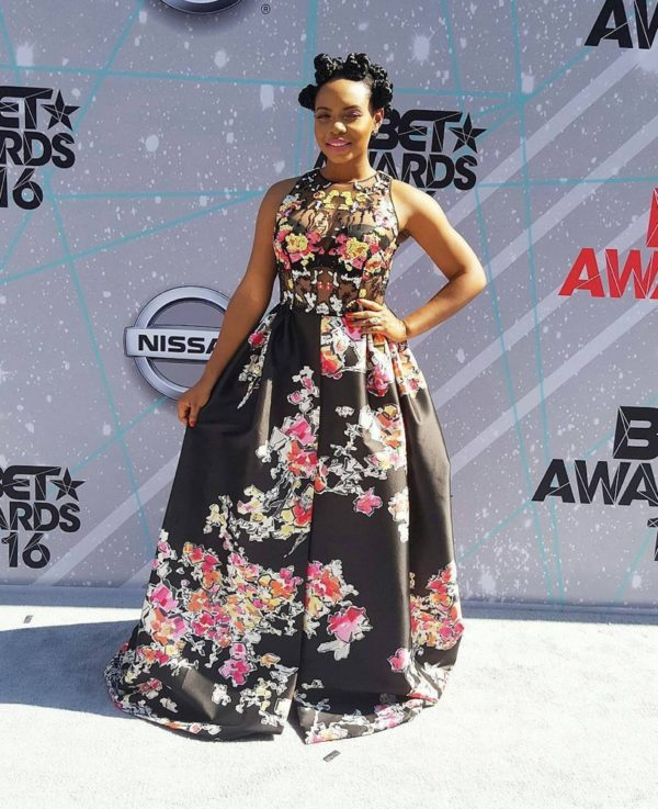 Yemi Alade in Zuhair Murad at the 2016 BET Awards 600x737 1 Yemi Alade's Zuhair Murad Dress to the 2016 BET Awards Cost 2.5M!
