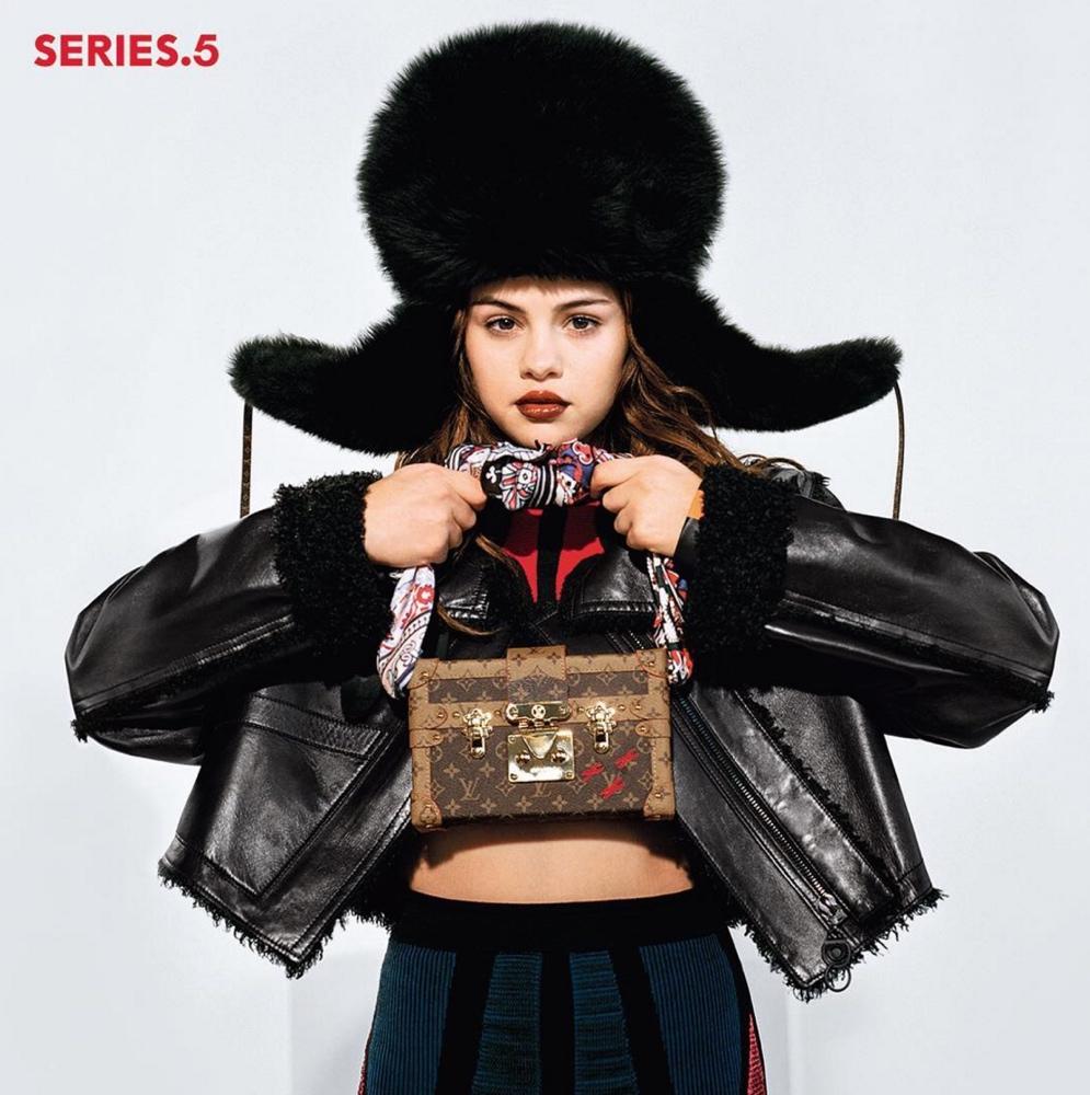 louis vuitton selena gomez bellanaija june 2016Screen Shot 2016 06 20 at 19.49.01  1 Louis Vuitton's Latest Campaign features Selena Gomez in a New Look   See Photos