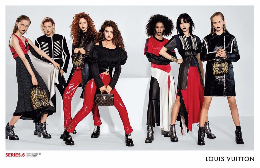 louis vuitton selena gomez june 2016Screen Shot 2016 06 20 at 19.50.06  1 Louis Vuitton's Latest Campaign features Selena Gomez in a New Look   See Photos