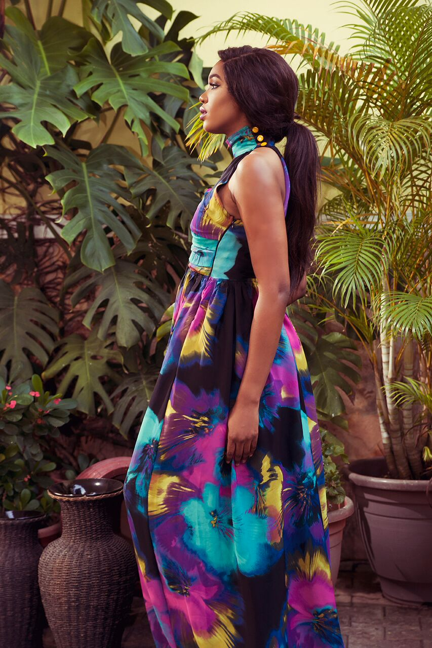 "15 1 ""Skinny Girl in Transit"" actress Sharon Ooja models for Rabesque's ""Bloom"" Collection 