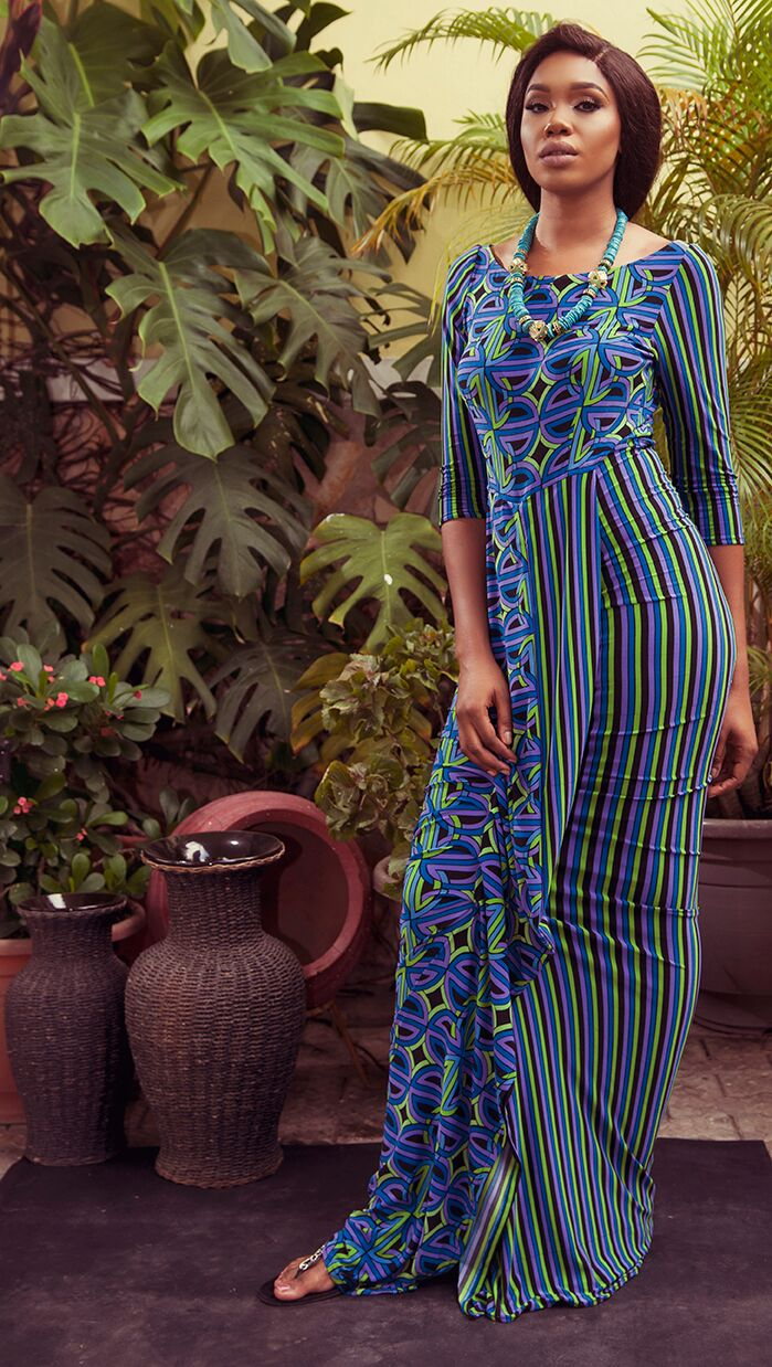 "6 2 ""Skinny Girl in Transit"" actress Sharon Ooja models for Rabesque's ""Bloom"" Collection 