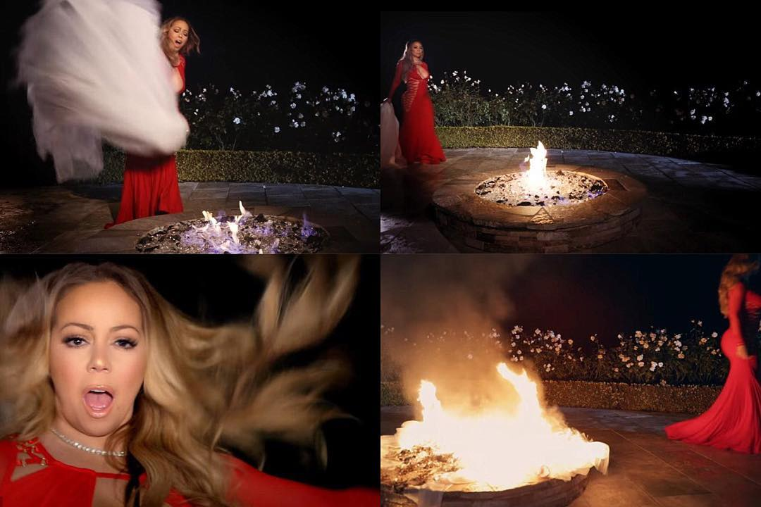 16230105 1427763550591485 2035620863998427136 n Mariah Carey burns the $250k (about N125m) wedding dress meant for James Parker wedding .